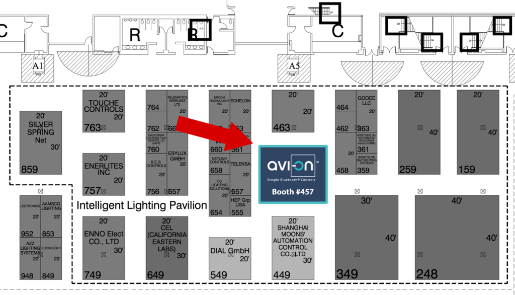 Lightfair International 2017 Map